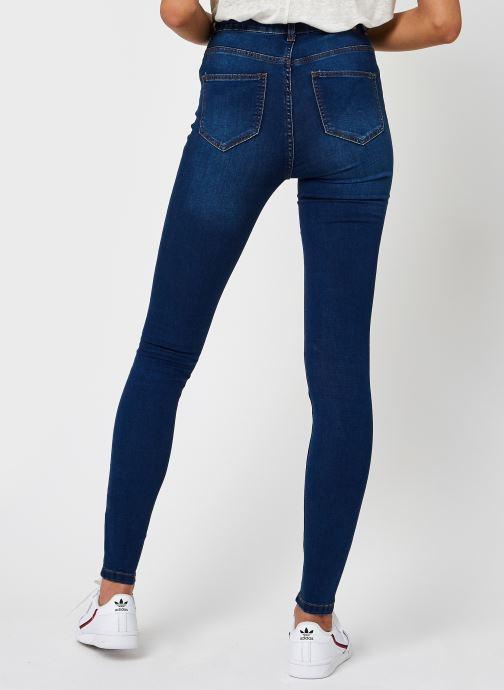 Kleding Noisy May Nmcallie Skinny Jeans Blauw model