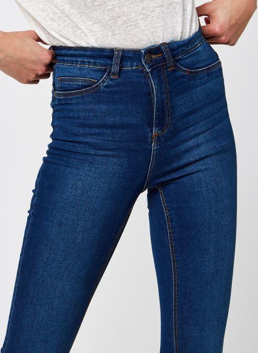 Kleding Noisy May Nmcallie Skinny Jeans Blauw voorkant