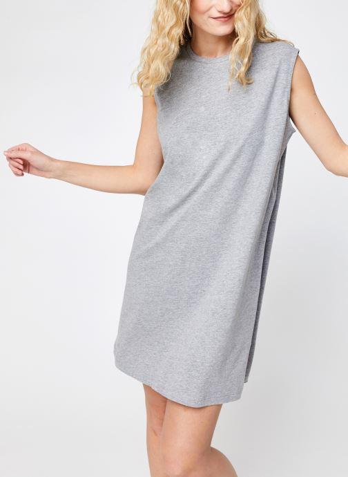 Kleding Noisy May Nmmayden Short Dress Grijs detail