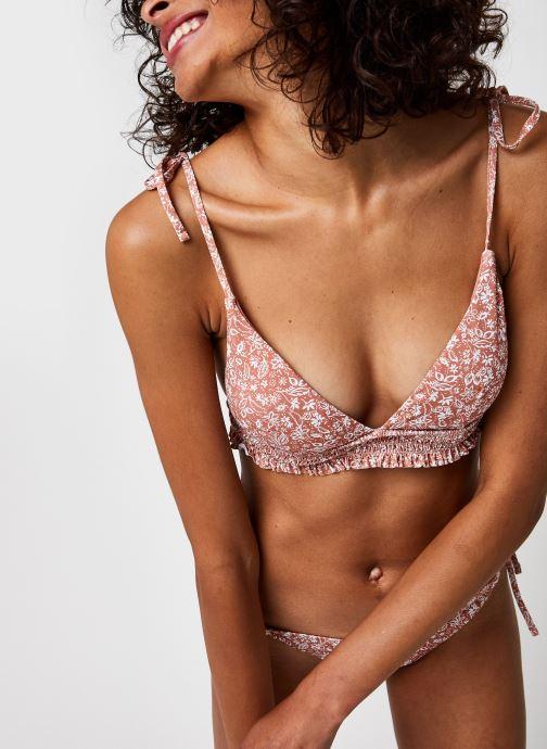 Kleding Pieces Pcgaya Bikini Top Sww Roze detail