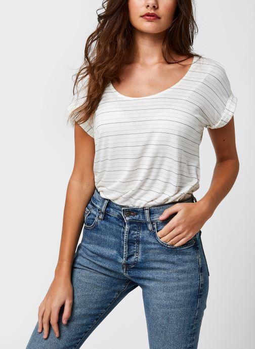 Vêtements Accessoires Pcbillone Top Lurex Stripes