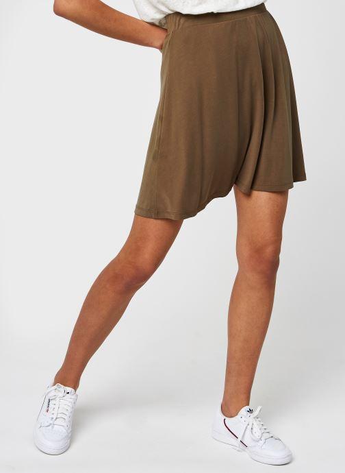 Vêtements Pieces Pckamala Skirt Marron vue détail/paire