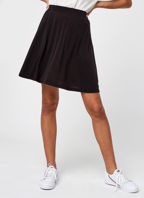 Vêtements Pieces Pckamala Skirt Noir vue détail/paire