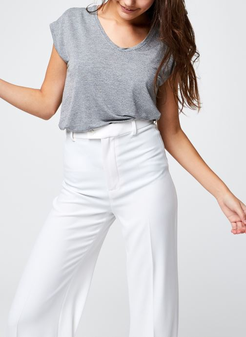 T-shirt - Pcbillo Tee Lurex Stripes Noos