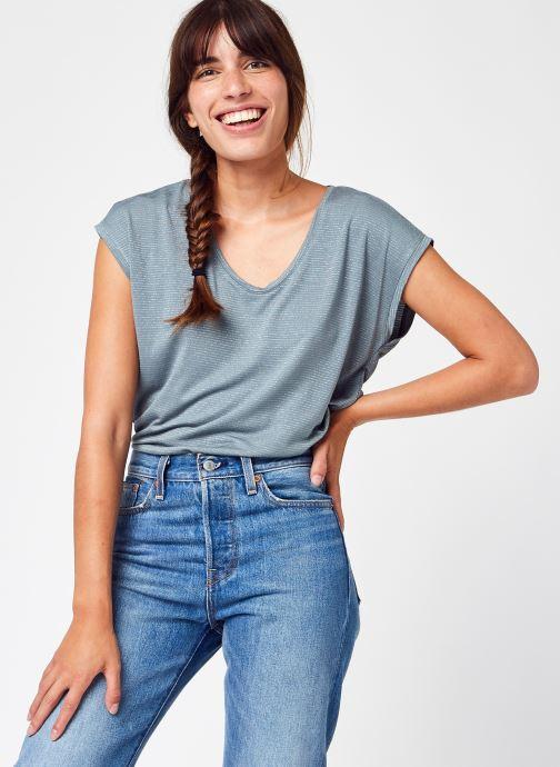 Abbigliamento Accessori Pcbillo Tee Lurex Stripes Noos