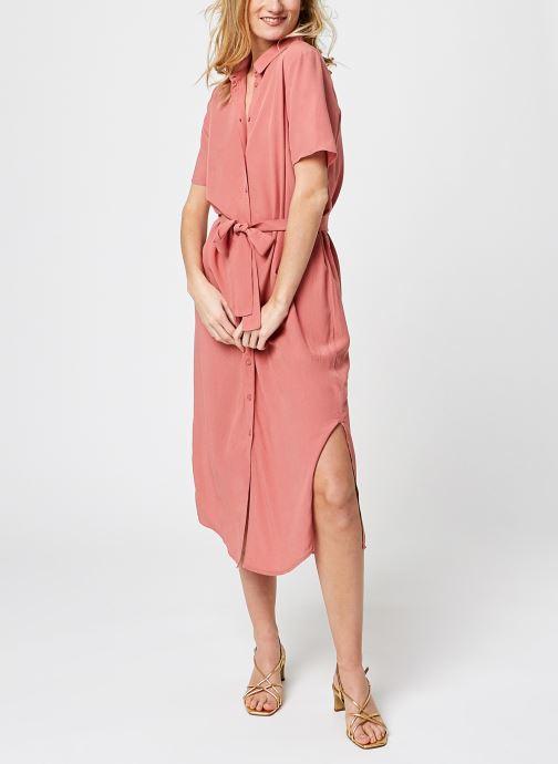 Kleding Pieces Pccecilie Long Dress Roze onder