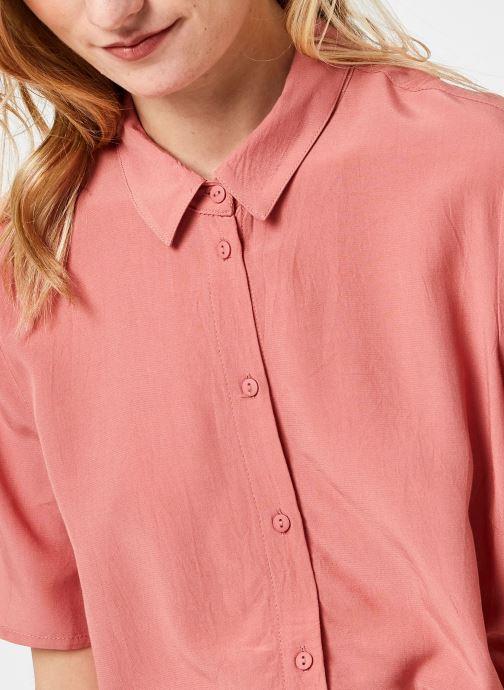 Kleding Pieces Pccecilie Long Dress Roze voorkant