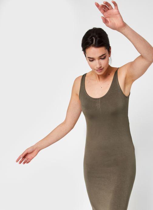 Vêtements Pieces Pckalli Tank Dress Vert vue détail/paire