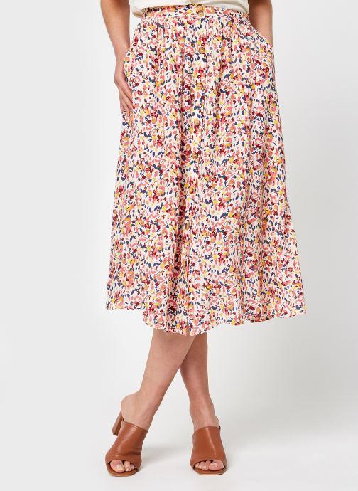 Vêtements Pieces Pccoya Midi Skirt Rose vue détail/paire