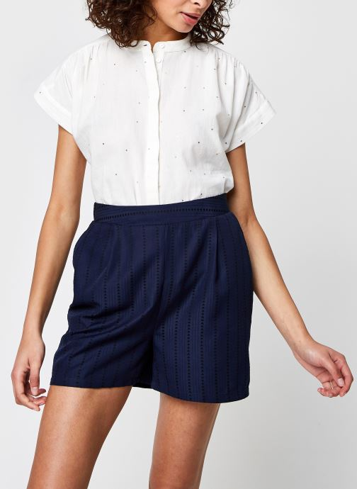 Vêtements Pieces Pcrianna Shirt Blanc vue détail/paire