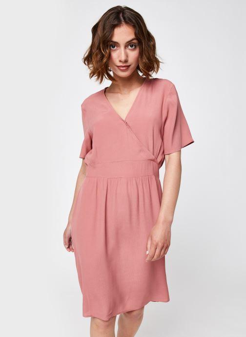 Vêtements Pieces Pcginnie Dress Rose vue détail/paire