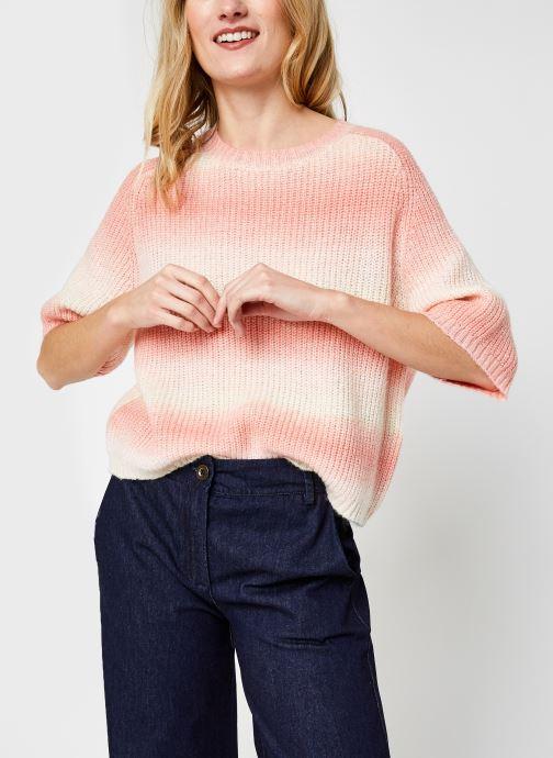 Vêtements Pieces Pcgoya O-Neck Knit Orange vue détail/paire