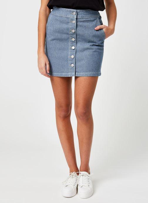 Abbigliamento OBJECT Objaisa Skirt Azzurro vedi dettaglio/paio