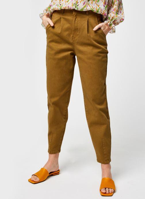 Abbigliamento OBJECT Objroxane Ankle Jeans Verde vedi dettaglio/paio