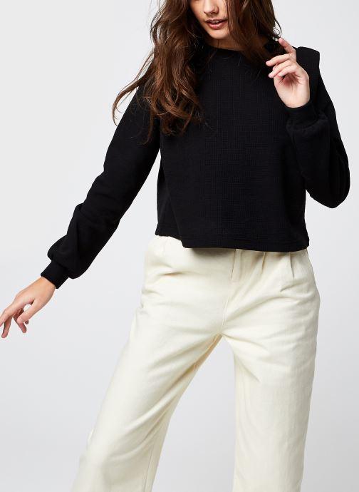 Kleding OBJECT Objbeate Pullover Zwart detail