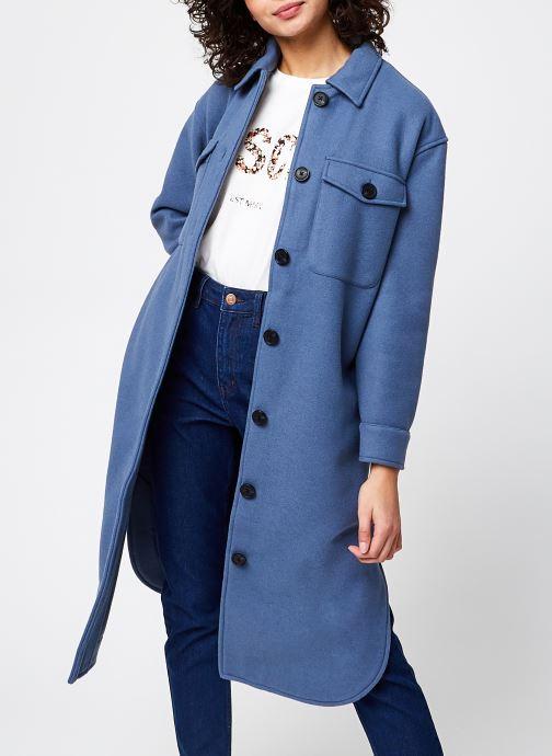 Kleding OBJECT Objchile Jacket Blauw detail
