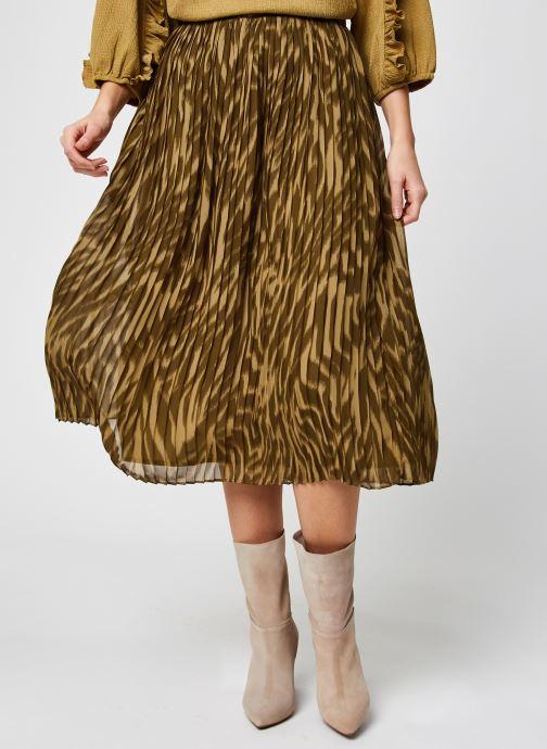 Abbigliamento OBJECT Objzania Skirt Verde vedi dettaglio/paio