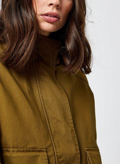 Kleding OBJECT Objpetra Jacket Groen voorkant