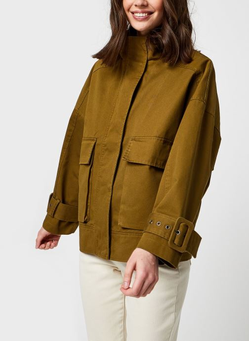 Kleding OBJECT Objpetra Jacket Groen rechts
