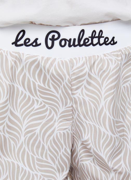 Vêtements Les Poulettes Fitness Short Beige vue face