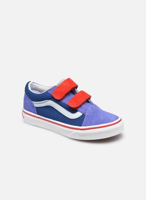 Baskets Vans uy old skool v (color block)bj Bleu vue détail/paire