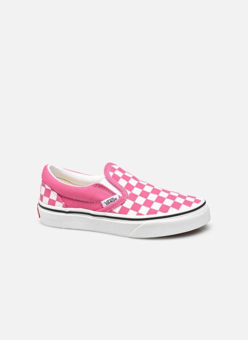 Sneaker Vans uy classic slip-on (checkerbrd)fch rosa ansicht von hinten