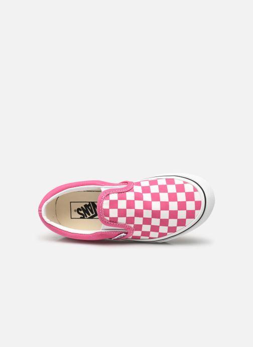 Sneaker Vans uy classic slip-on (checkerbrd)fch rosa ansicht von links