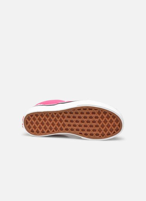 Sneaker Vans uy classic slip-on (checkerbrd)fch rosa ansicht von oben