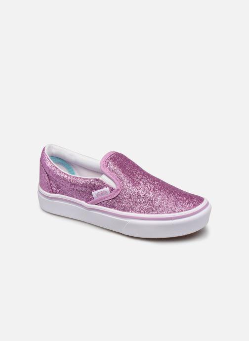 Deportivas Vans uy comfycush slip-on (glitter) orchi Rosa vista de detalle / par