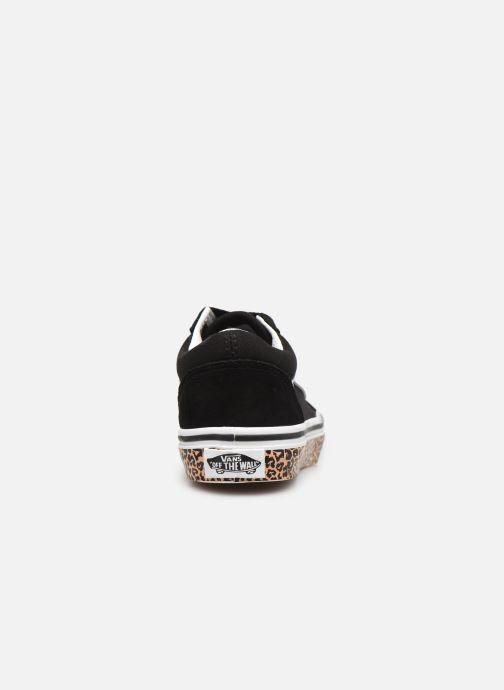 Sneakers Vans uy old skool (animal sidewal Zwart rechts