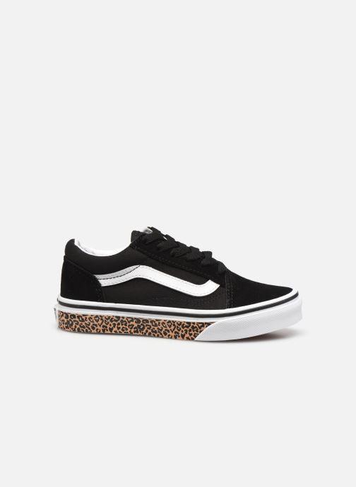 Sneakers Vans uy old skool (animal sidewal Zwart achterkant