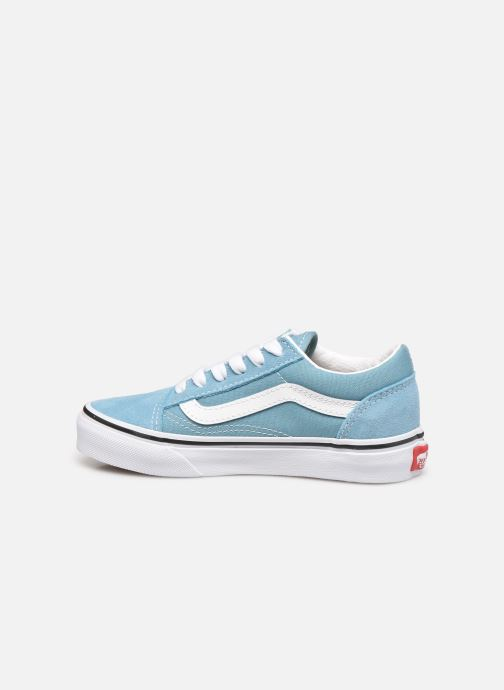 Sneakers Vans uy old skool delphinium blue Azzurro immagine frontale