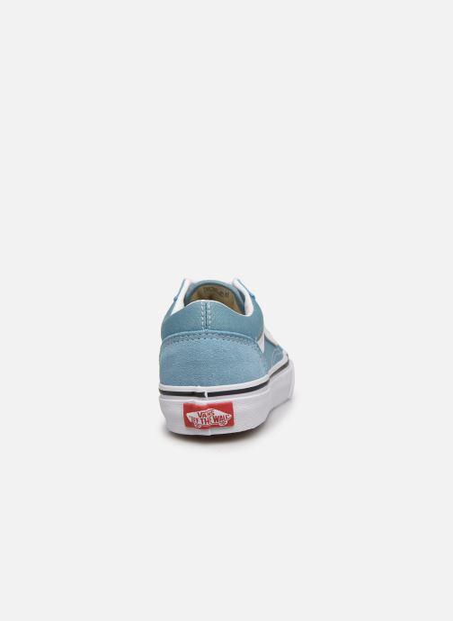 Baskets Vans uy old skool delphinium blue Bleu vue droite