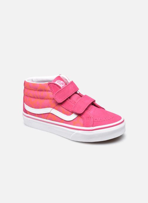 Sneakers Vans uy sk8-mid reissue v (neon animal)le Roze detail