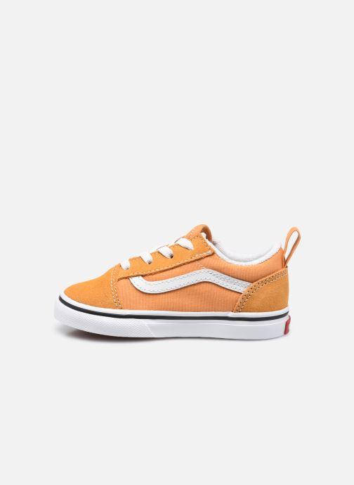 Sneaker Vans td old skool elastic lace golden nugget/ orange ansicht von vorne