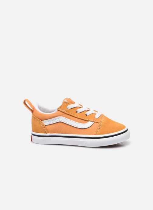 Sneaker Vans td old skool elastic lace golden nugget/ orange ansicht von hinten