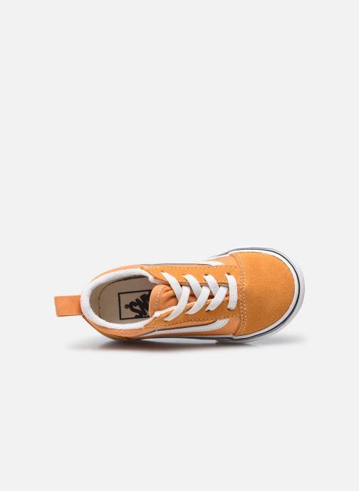 Sneaker Vans td old skool elastic lace golden nugget/ orange ansicht von links