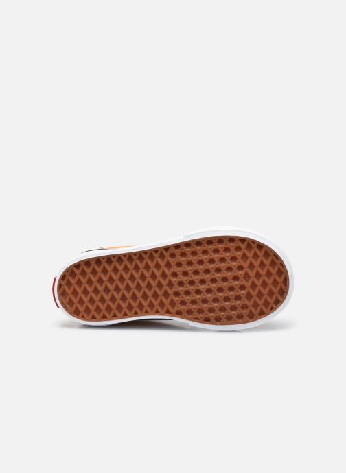Sneaker Vans td old skool elastic lace golden nugget/ orange ansicht von oben