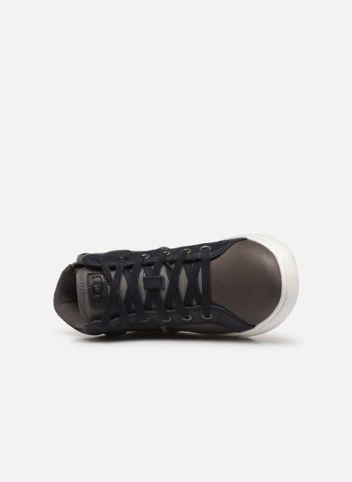 Deportivas UGG Boscoe Sneaker Leather Marrón vista lateral izquierda