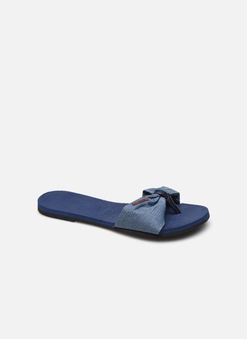 Clogs & Pantoletten Havaianas Hav. You St Tropez Shine W blau detaillierte ansicht/modell