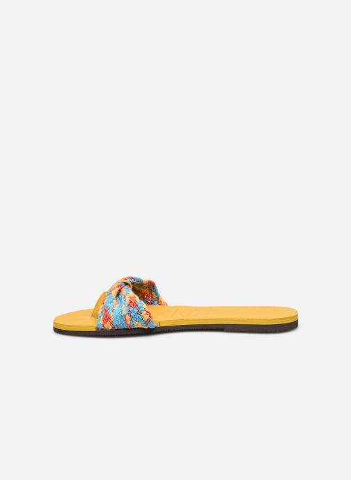 Clogs & Pantoletten Havaianas HAV. YOU ST TROPEZ MESH mehrfarbig ansicht von vorne