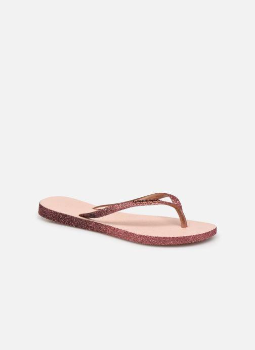 Slippers Havaianas Hav. Slim Sparkle II W Roze detail