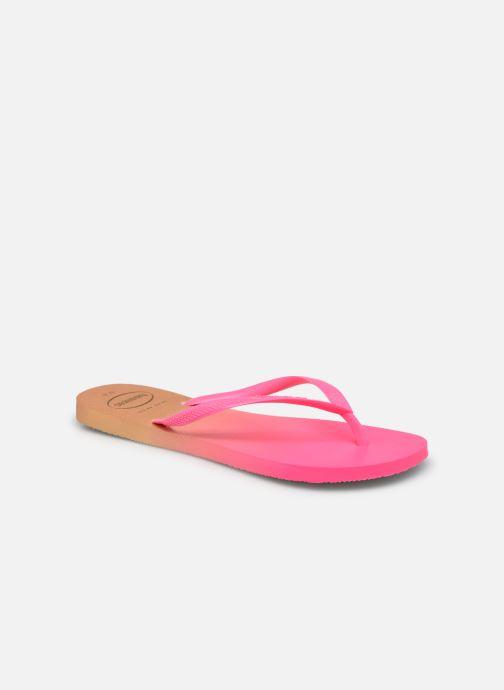Zehensandalen Havaianas Hav. Slim Gradient rosa detaillierte ansicht/modell