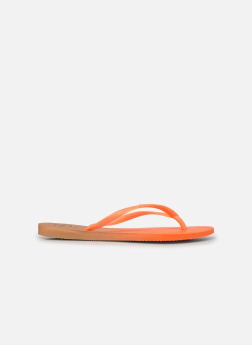 Zehensandalen Havaianas HAV. SLIM GRADIENT orange ansicht von hinten
