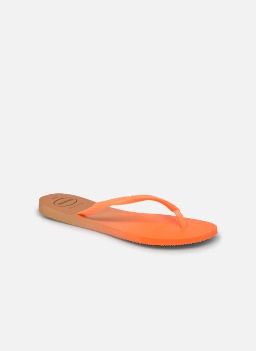 Zehensandalen Havaianas HAV. SLIM GRADIENT orange detaillierte ansicht/modell
