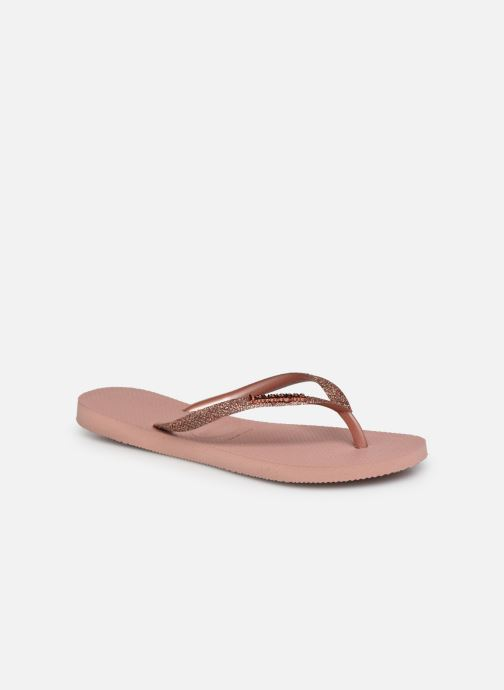 Slippers Havaianas Hav. Slim Glitter II W Roze detail