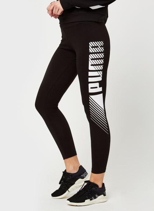 Ropa Puma W Ess+ Graf Legging Negro vista de detalle / par