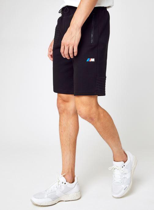 Vêtements Puma Fd Bmw Mms Sw Short Noir vue détail/paire
