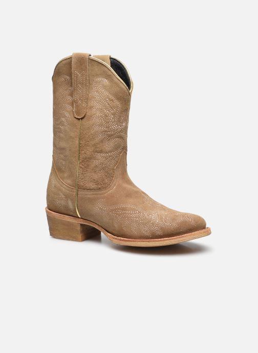 Bottines et boots Mexicana Chiquita Beige vue détail/paire