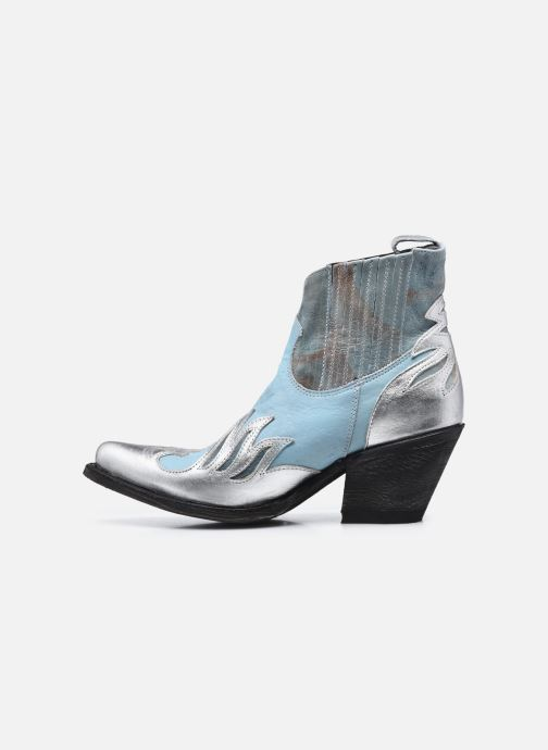 Bottines et boots Mexicana Dandy Bleu vue face